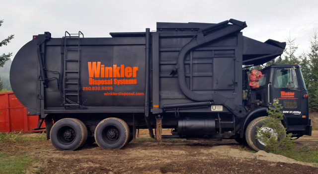 Winkler Disposal Front Loader